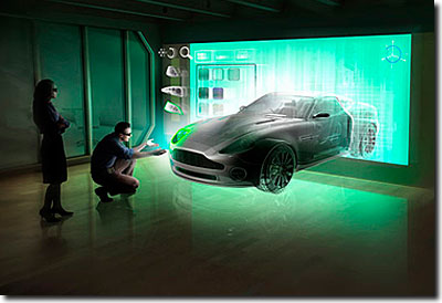 3D being used for Car Design