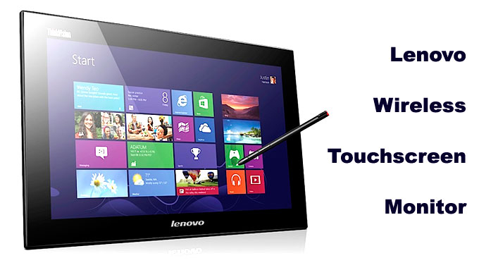 Lenovo Wireless Touchscreen Monitor