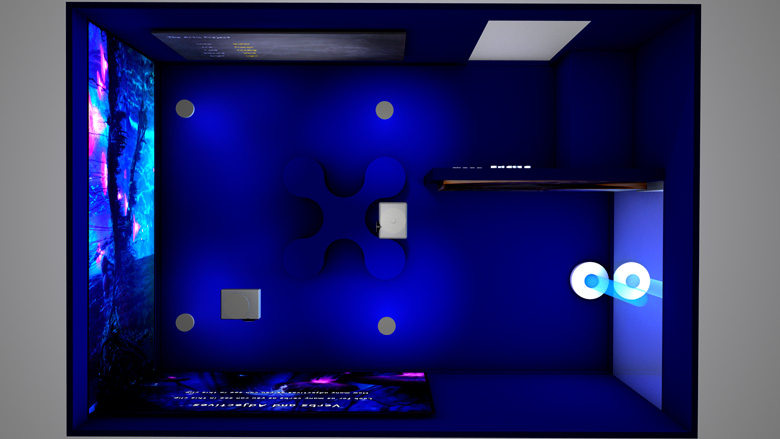 The Mead Sensory Room back view